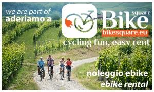 Aderiamo a BikeSquare, We are part of BikeSquare - noleggio ebike, ebike rental service